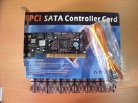 כרטיס PCI Card 2SATA+IDE+1Ext SATA