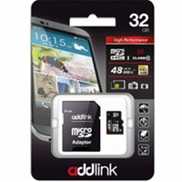 Addlink Micro SD 32G Class10 UHS-I + Adapter AD32GBMSH310A