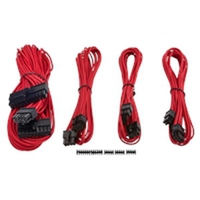 Corsair Premium Individually Sleeved PSU Cable Kit Starter Package Type 4 (Generation 3) - Red CP-8920145