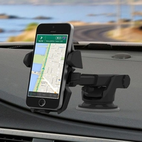 מעמד Long Neck One-Touch Car Mount לדשבורד או לשמשה