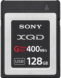 כרטיס זיכרון Sony 128GB G Series XQD Format Version 2