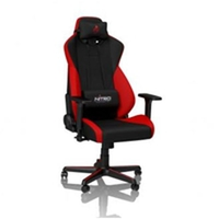 Nitro Concepts S300 Gaming Chair Inferno Red NC-S300-BR במלאי