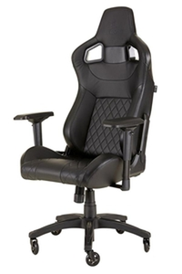 Corsair T1 RACE 2018 Gaming Chair Black/Black במלאי