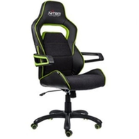 כיסא גיימינג Nitro Concepts E220 EVO Gaming Chair Black/Green NC-E220E-BG
