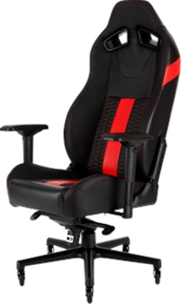 Corsair T2 Road Warrior Gaming Chair Black/Red CF-9010008-WW
