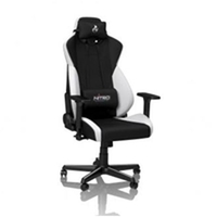 Nitro Concepts S300 Gaming Chair Radiant White NC-S300-BW