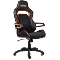 כיסא גיימינג Nitro Concepts E220 EVO Gaming Chair Black/Orange NC-E220E-BO