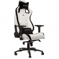 Noblechairs EPIC Gaming Chair White/Black NBL-PU-WHT-001