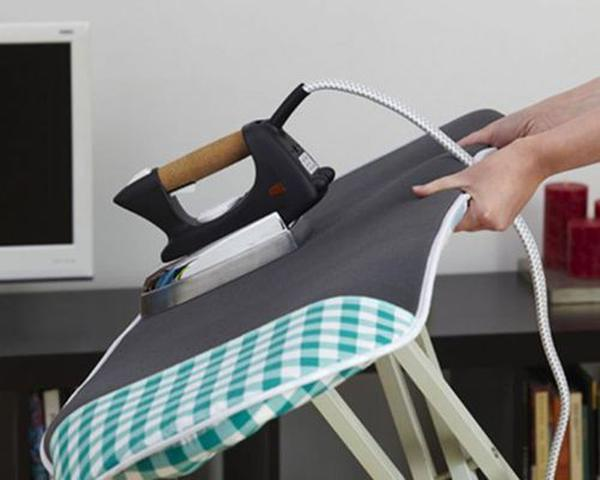 "כיסוי הפלא לקרש גיהוץ דיסקוברי פרמיום 9 מ""מ Discovery Wonder Pad Best Ironing Board Smart Cover Laundry - coms.life 