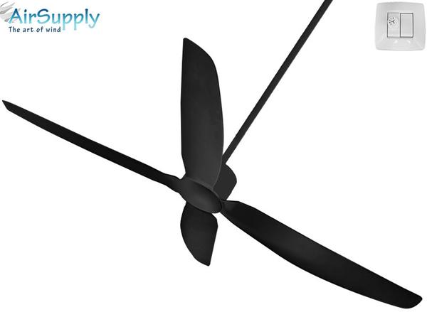 מפואר קומס.לייף - מוצר - מאוורר תקרה מעוצב אייר סופליי קומבו Air Supply HD-93