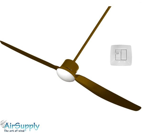 מתקדם קומס.לייף - מוצר - מאוורר תקרה מעוצב + תאורה אייר סופליי קומבו 2 RY-02