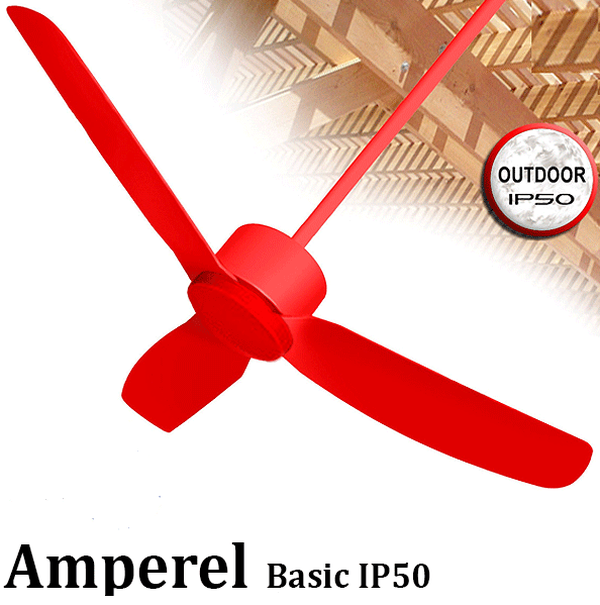 מאוורר תקרה אמפראל '42 מוגן לחות Amperel Basic IP50